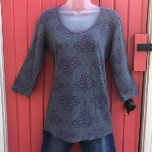 Erge Geometric Floral Pattern Thermal LS T EUC